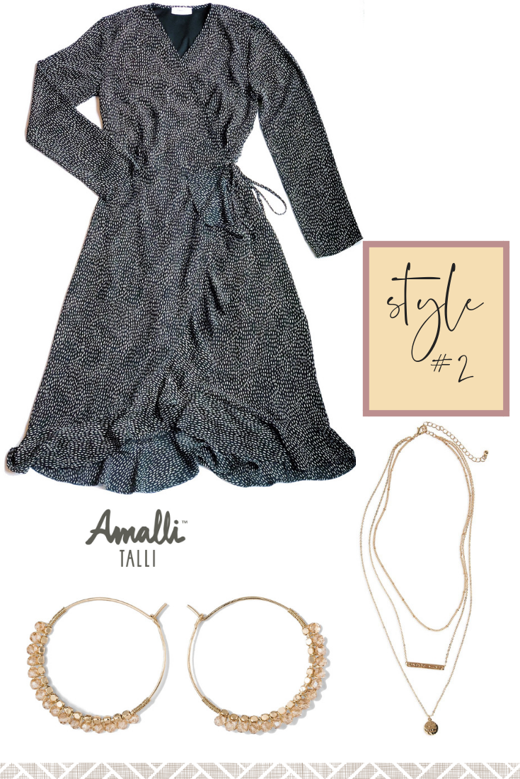 Styling the Amalli Talli Beverly Wrap Dress