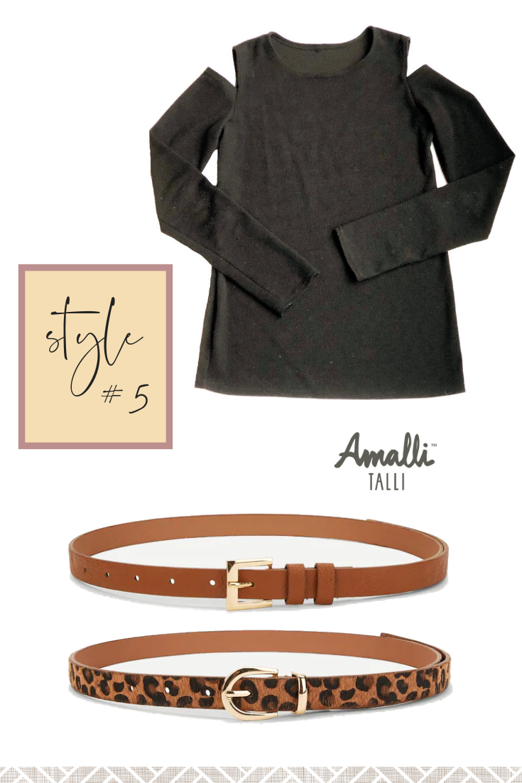 Cold Shoulder Top Outfit Ideas from Amalli Talli