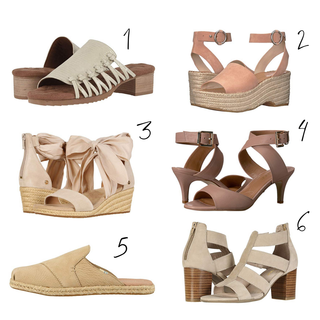 A variety of heels, mules and wedges  in women's sizes 12 & 13 on Zappos