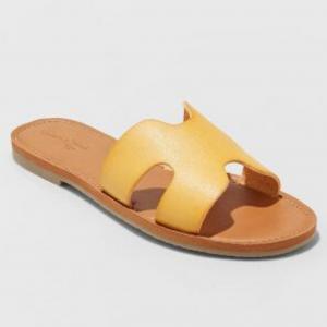 Jenny Slide Sandals Universal Thread (Women's Size 12)