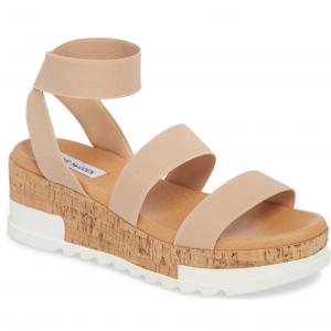 Steve Madden Bandi Platform Wedge Sandal (Women's Size 12)